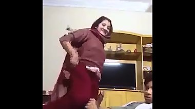 Desi Milf Ride a Teen Boy (Background Sound Bangla Song)