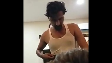 desi pakistan servent is fucked by his boss for a job